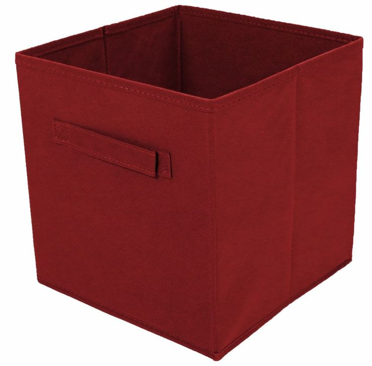 Tidy Living - 2PK Foldable Fabric Drawer (Red) #TidyLiving