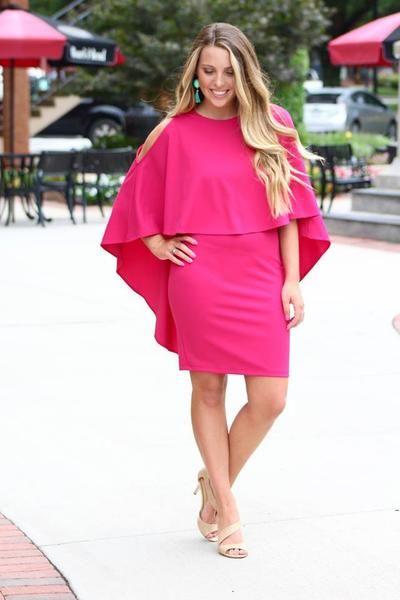 Ivanka Dress - Magenta