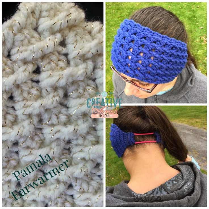 Mejores 95 imágenes de Crochet - Headbands/ear warmers en Pinterest ...