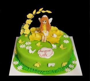 Торт фея Динь Динь