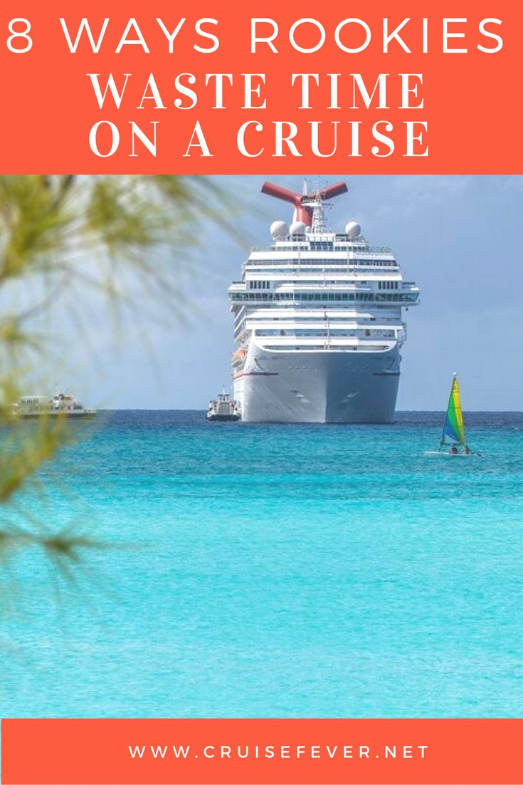 "Make good use of every moment you're on a cruise and avoid these rookie mistakes. ""Follow us"" to get more awesome content like this too! Happy cruising on your next vacation."