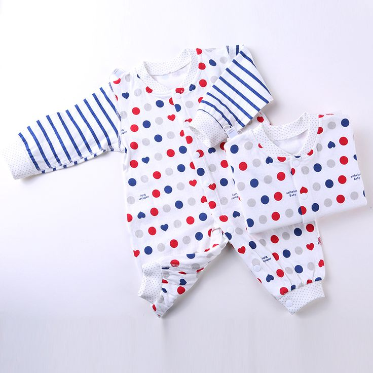 Baby Romper Manga Comprida Cotton Tutine Neonato Body Infant Neawborn Baby Coveralls Winter Infants Romper Long Sleeve 707035