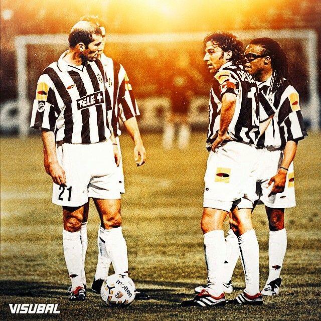 Zidan, Del Piero, Davidz