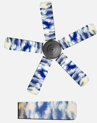 Ceiling fan covers ceiling fan blade covers who knew covers foter ceiling fan covers fancy blade home decor ceiling fan cover blue sky clouds inspirational covers aloadofball Images
