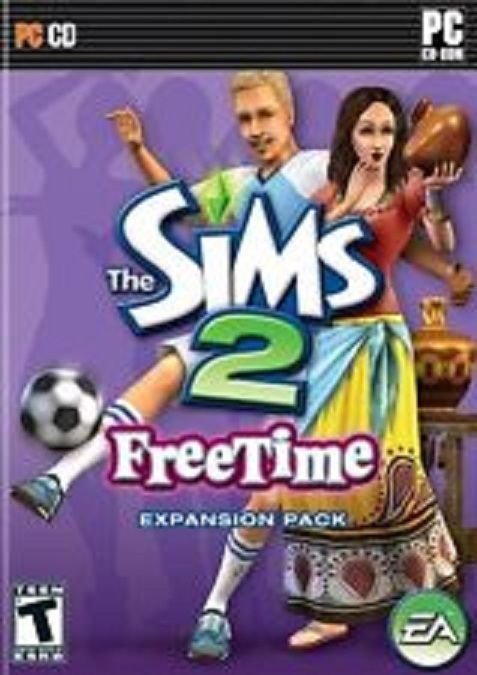 The Sims 2 FreeTime Expansion Pack with Key Code PC CD ROM Windows 2008