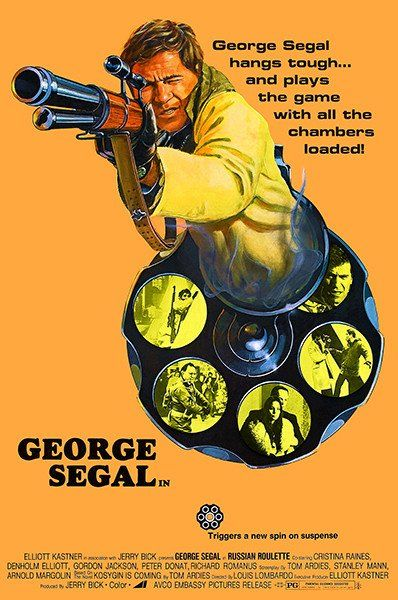 Russian Roulette - 1975 - Movie Poster