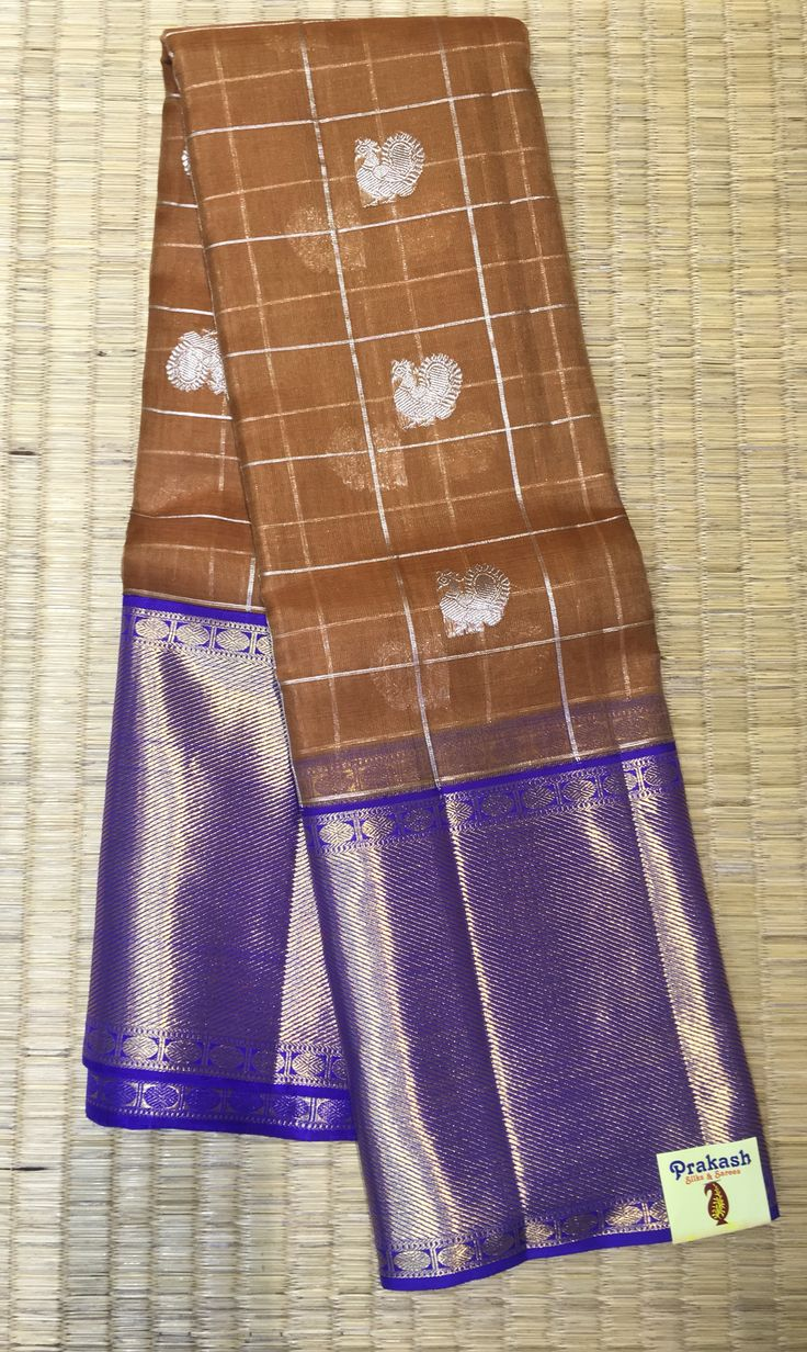 Traditional Organza saree from prakashsilks