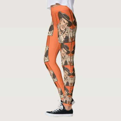 #1955 Western bad guy with rifle from Billy the Kid Leggings - #giftideas for #kids #babies #children #gifts #giftidea