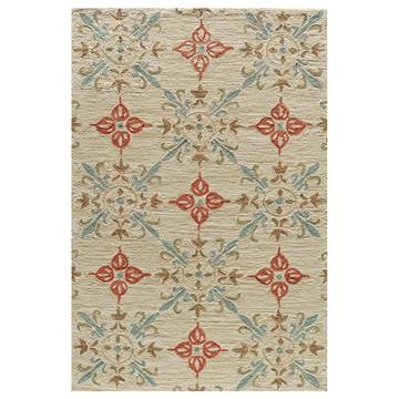 Corinne Rug 8x10 Sand now featured on Fab. I ABSOLUTELY LOVE THIS AREA RUG.  It's the perfect colors for what I have in mind for the living or family room.  Whichever we'll use the most because you'd want to see it as much as possible.