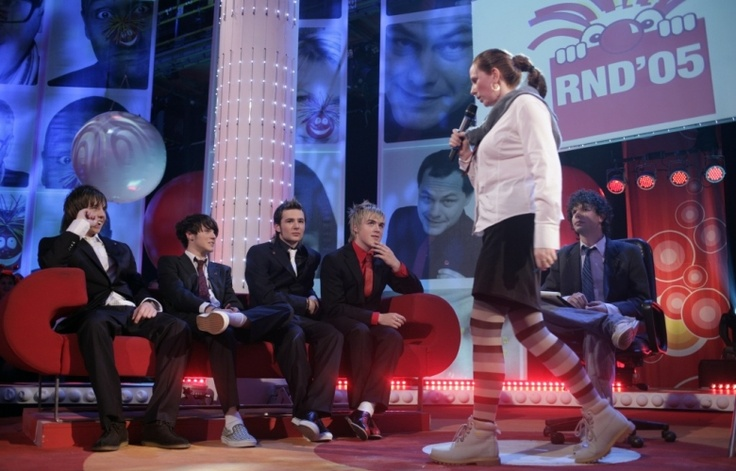 Picture Gallery | Comic Relief Lauren meets McFly 2005