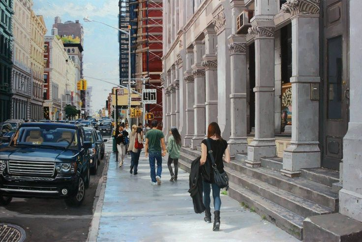 108 best images about vincent giarrano on pinterest for Mural on broome street