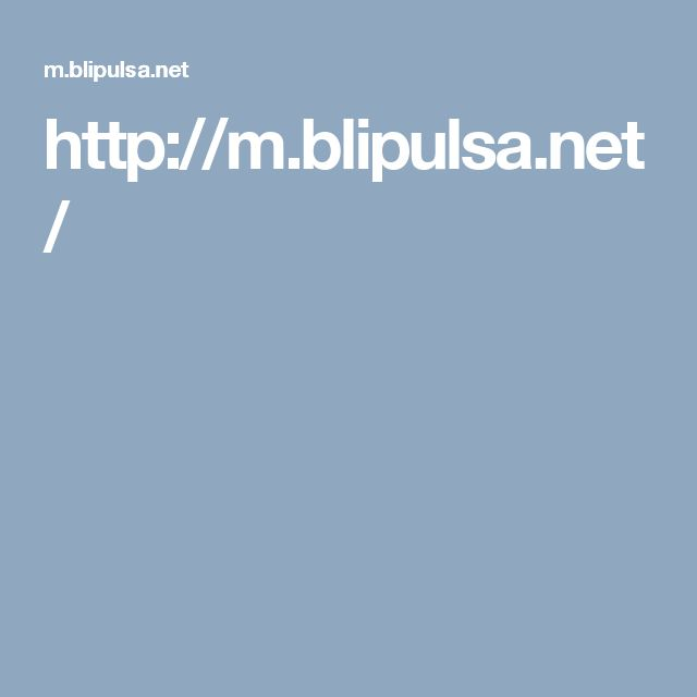 http://m.blipulsa.net/