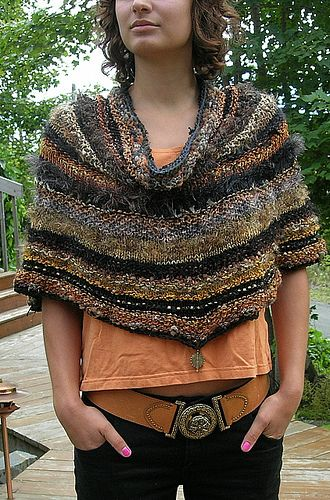 Bronze Cowled Capelet by thornleytwo, via Flickr
