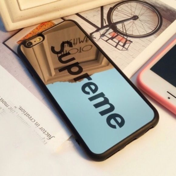 iPhone 7/8 PLUS Black Mirror SUPREME Case   Supreme case, Supreme ...
