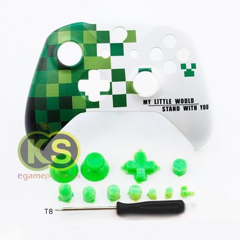 Custom Xbox One S Minecraft limited Controller Shell xbox