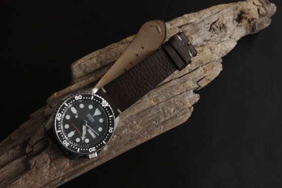 Earth  Handmade Vintage Leather Straps Dark by SimpleaLeather
