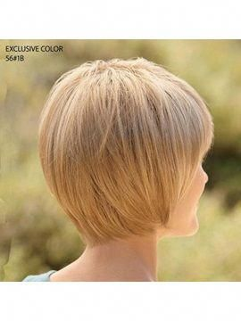 Custom Cute Bob Hairstyle Short Straight about 6Inches Strawberry Blonde Real Human Remy Hair Perfect Wig : Tidebuy.com #bobhairstyles