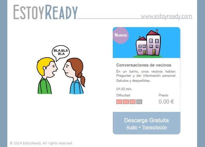 Español - Conversaciones de vecinos