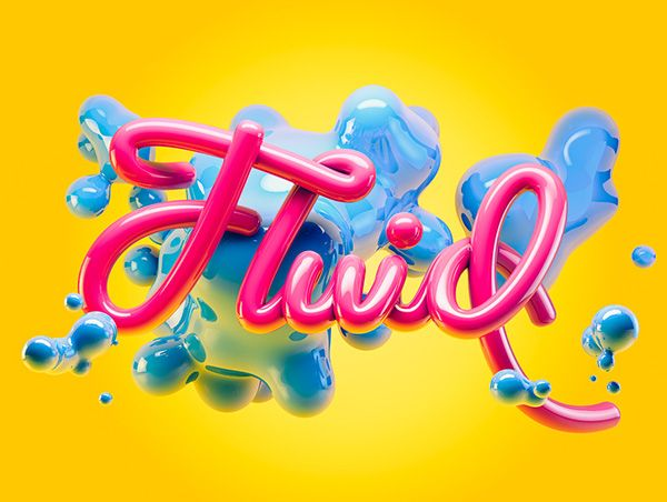 Fluid on Behance