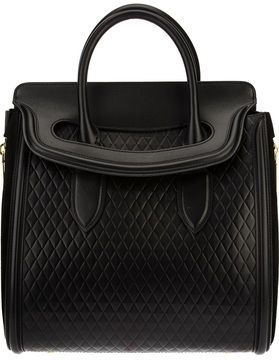 Alexander McQueen 'Heroine' tote on shopstyle.com - vintage purses, ladies purse online, top designer handbags *sponsored https://www.pinterest.com/purses_handbags/ https://www.pinterest.com/explore/purse/ https://www.pinterest.com/purses_handbags/backpack-purse/ https://www.guessfactory.com/en/Catalog/Browse/women/handbags/view-all/