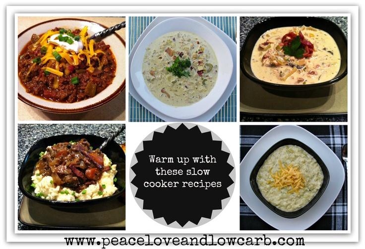 Low Carb Slow Cooker Recipes - Crock Pot Soups and Stews