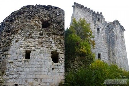chateau de tancarville   Le château de Tancarville