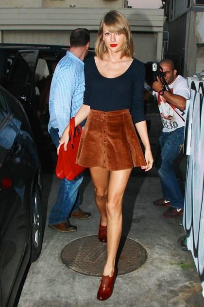 Taylor Swift's best street style moments—February 03, 2015