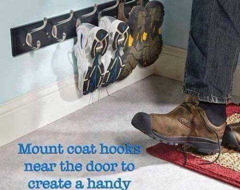 No Room For Shoes At Your Back Door? Now You Do
