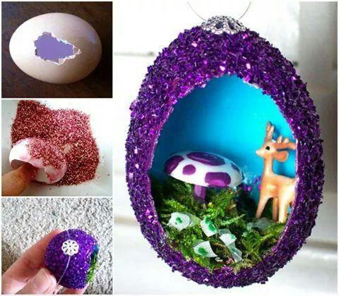 Huevos decorados / decorated eggs