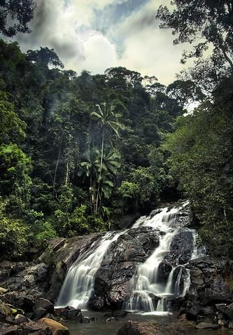 Kota Tinggi Waterfall, Johor, Malaysia. We used to picnic here.