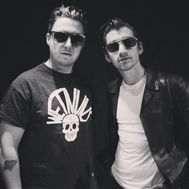 Matt Helders & Alex Turner