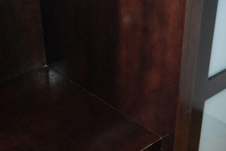 Opravený a vyleštěný starý lak / Repaired and polished old lacquer, #oprava, #lakování, #dveře, #zárubně, #obložky, #repair, #Instandsetzung, #Reparatur, #furniture, #Möbel
