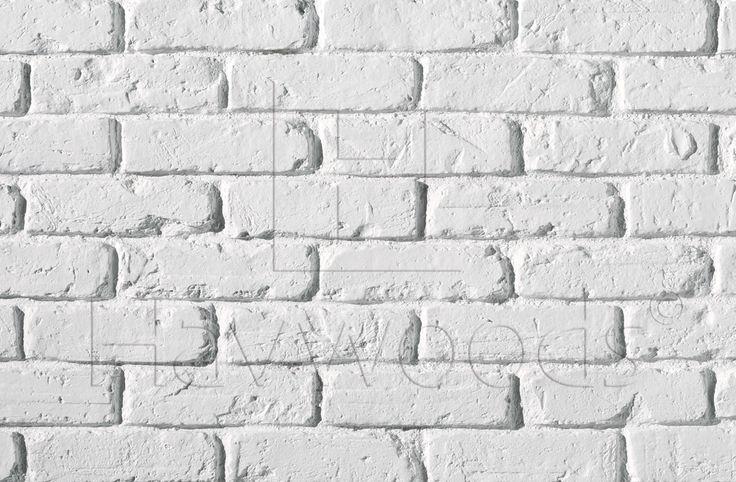 HW0100 TrikBrik White Brick Cladding Composite Interior Panels