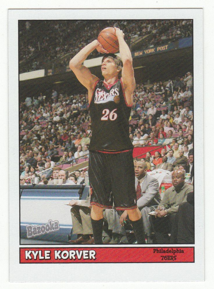 5e477798 ... Kyle Korver 83 - 2005-06 Topps Baz Basketball Shirt ...