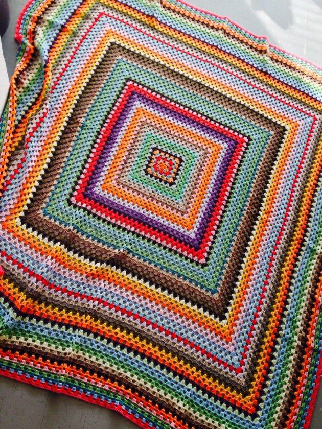 Håndarbeiden » Dette kan du hekle av restegarn hekling pledd crochet