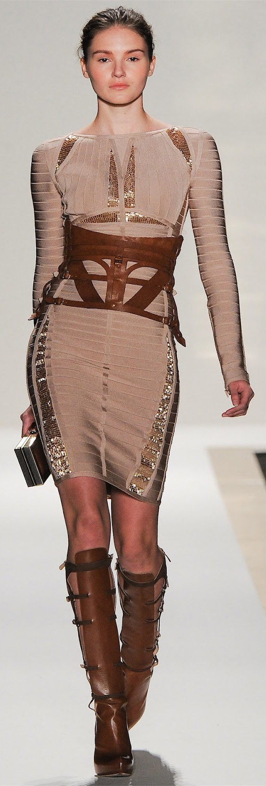 Herve Leger by Max Azria *from Vogue Italia* | bestaybeautiful