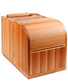 This powerful, portable infrared sauna arrives at your doorstep, fully assembled. All you have to do is pick a small corner of your house or apartment to place the sauna, plug it in and turn it on. Completely hands-free, you can be getting its wide range of health and beauty benefits—even while on your computer or your phone, reading a book, or sipping a delicious Glowing Green Smoothie.