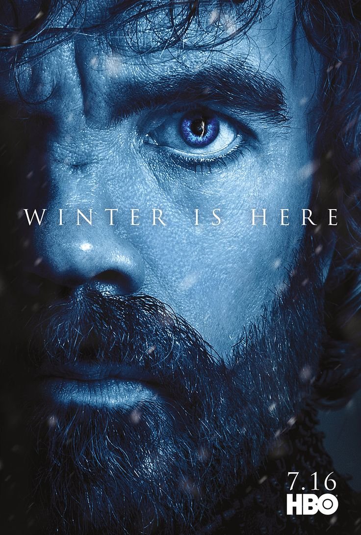 Character Posters for Game of Thrones Season 7 Revealed – Winter is Here!:  TYRION