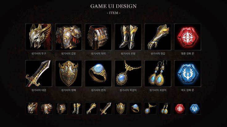 GGSCHOOL, Artist 이휘원, Student Portfolio for game, 2D Game UI / UX design, www.ggschool.co.kr