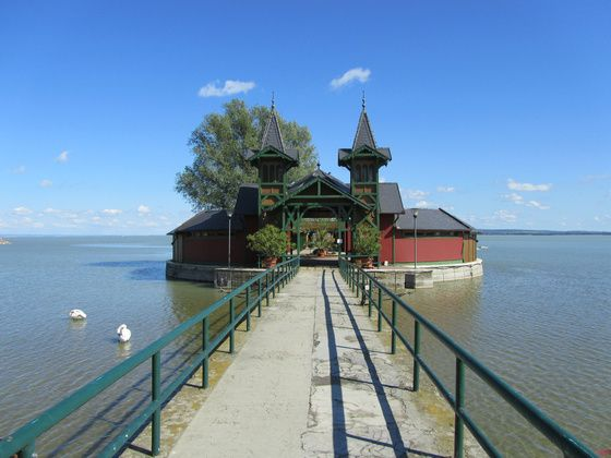 Keszthely : aan het uiterste noordwestelijke puntje van het Balatonmeer