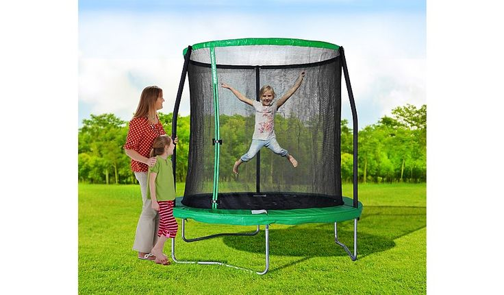 Sportspower Pro 8FT Trampoline & Enclosure, read reviews and buy online at George at ASDA. Shop from our latest range in Kids.  (50FT2)