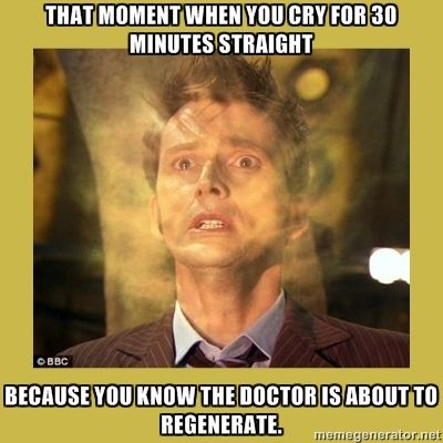 Yeah, heart of stone and it brought a River down my cheeks. Funny how real life doesn't do that, but a series like Doctor Who can. Never have worked that out. If I had counted every tear I cried for ten, I would be able to water a Rose or two. Who doesn't cry when ten is sad??
