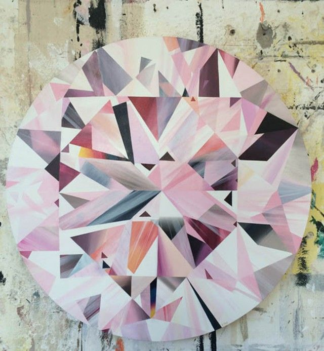 Diamonds Are Forever works by artist Kurt Pio