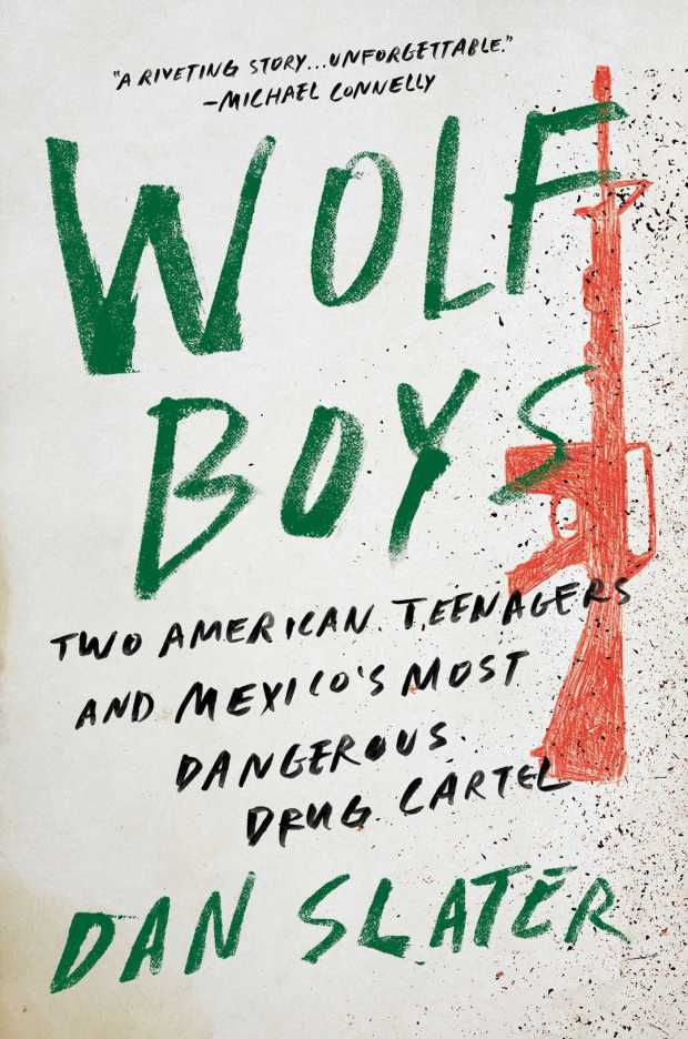 Wolf Boys by Dan Slater; design by Grace Han