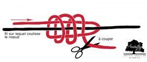 Comment faire un noeud coulissant sur un cordon de bracelet ou collier pour que sa taille soit ajustable.