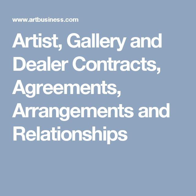Dating Relationship Agreement