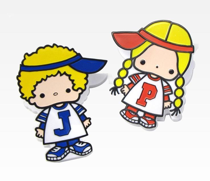 Patty & Jimmy Paper Clips: Sporty