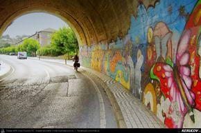 Traseu cu bicicleta MTB XC El Camino de Santiago del Norte - 3: Santander - Santillana Del Mar - Comillas - Colombres . MTB Ride El Camino de Santiago del Norte - 3: Santander - Santillana Del Mar - Comillas - Colombres - Cantabria - Asturia, Spania