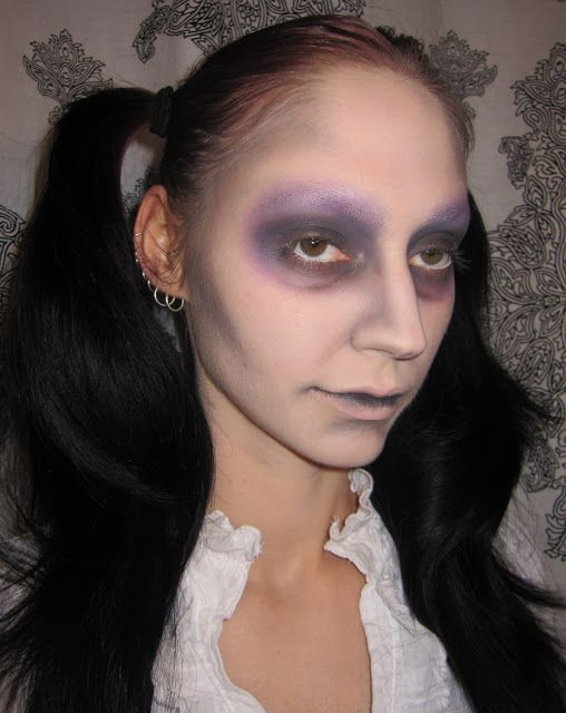 Dead girl makeup (tutorial)