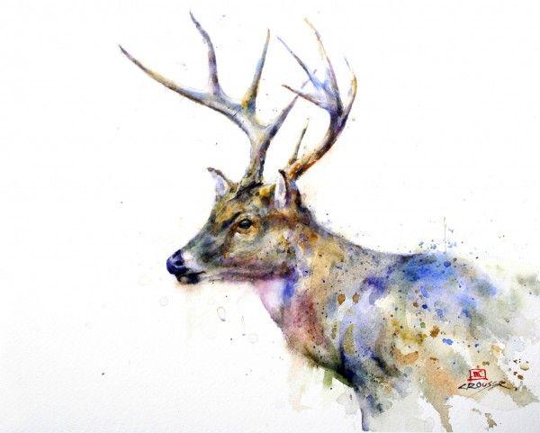 Dean Crouser's Animals Paintings   Trendland: Fashion Blog Trend Magazine